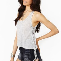 Lucca Couture Corset Tank