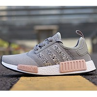 Adidas NMD R1 men and women Fashion casual shoes-2