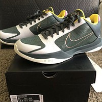 Nike Kobe 5 Protro EYBL'Forest Green' Simple and versatile sneakers shoes