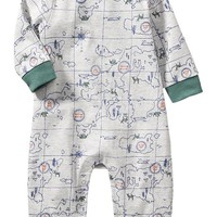 Old Navy Map Print One Pieces For Baby