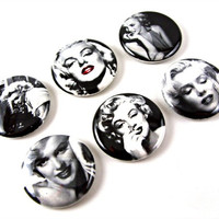 Marilyn Monroe Magnets: Set of 6