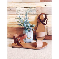 The Minimalist Sandal - Natural