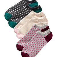 Old Navy Womens Liner Socks 3 Packs Size One Size - Maple