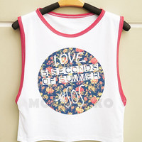 S M L -- Love 5 Seconds of Summer Shirts 5sos Shirts Rock Top Muscle Top Muscle Tee Muscle Shirts Women Shirts Women Tank Top Women TShirts