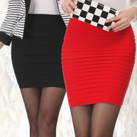 Bandage Slim Bodycon Mini Skirt