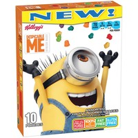 Kellogg's Despicable Me Assorted Fruit Flavored Snacks - 10ct