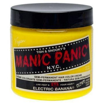 Manic Panic ~ Semi-Permanent Hair Dye ~ Electric Banana [Health and Beauty] - Walmart.com