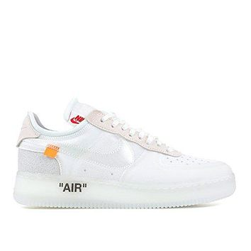 The 10 Nike Air Force 1 Low Off White ao4606 100