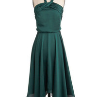 Spruce or Dare Dress | Mod Retro Vintage Dresses | ModCloth.com