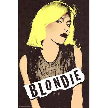 "Poster: Blondie Debbie Harry Pop Art (24""x36"")"