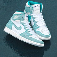 Nike Air Jordan AJ 1 classic high-top culture wild casual sports basketball shoes