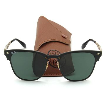 Ray-Ban RB3576N BLAZE CLUBMASTER Sunglasses 043/71, 41mm
