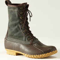 Waxed Canvas Maine Hunting Shoe, Men's: FOOTWEAR   Free Shipping at L.L.Bean
