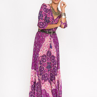 Spell || Kiss the sky gown in violet