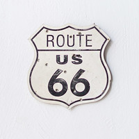 Vintage Route 66 Road Sign [Route 66 Road Sign] : ORN HANSEN, Vintage + American Made General Store