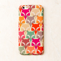 Multicolor Fox Animal iPhone 6S/ 6 case
