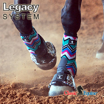 Legacy System Front Boots by Classic Equine