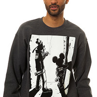 Another Enemy Outsiders Crewneck in Charcoal