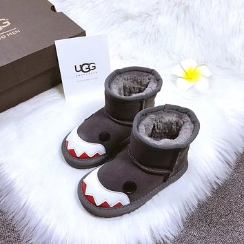 UGG baby Fashion Wool Snow Boots-3