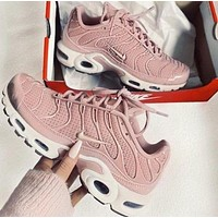 Alwayn Nike Air Max Plus 97 Trending Women Stylish Casual Pink Air Cushion Sports Running Shoe Sneakers I-CSXY