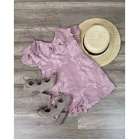 Final Sale - Selfie Leslie - Let's Mauve It Romper