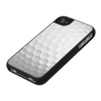 Golf Ball Texture iPhone 4 Cases from Zazzle.com