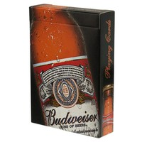 ONETOW Budweiser - Bottle Playing Cards