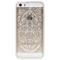 Rifle Paper Co. - Clear Lace iPhone 5 + 5s Case
