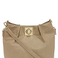 Big Buddha Loraine Small Crossbody Taupe Bag