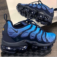 Nike Air Max Vapormax Plus TN Vascular Atmospheric Cushion Running Shoes Fashion Men's and Women's Casual Sports Shoes