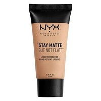 NYX Stay Matte But Not Flat Liquid Foundation - Soft Beige - #SMF05