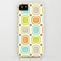 Leaf Line iPhone & iPod Case by Heather Dutton
