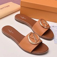 Women Fashion Slipper Sandals Flats Shoes