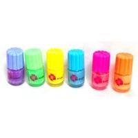 Glow in the Dark Neon Nail Polish (6 Pack)