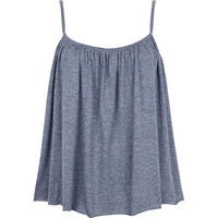 River Island Womens Blue babydoll cami top