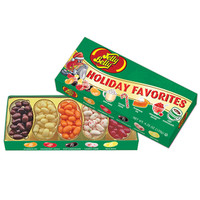 Jelly Belly Holiday 5 Flavors Jelly Beans Sampler: 4.25-Ounce Gift Box