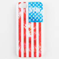 Tie Dye American Flag Iphone 5/5S Case Red Combo One Size For Women 23235234901