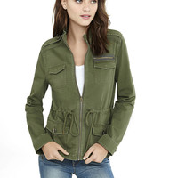 four pocket military parka