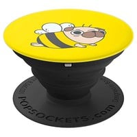 Pug Bee - PopSockets Grip and Stand for Phones and Tablets