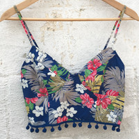 Tropical Flowers Top