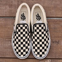 Vans Checkerboard Slip On Sneaker