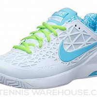 Nike Zoom Cage 2 White/Lime Women's Shoe