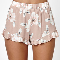 LA Hearts Ruffle Hem Soft Shorts at PacSun.com