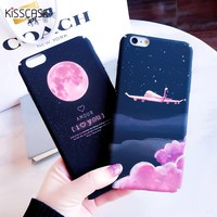 KISSCASE Phone Case For iPhone 5s Case For iPhone 7 6 6s 8 Plus X XS XR XS Max King Queen Thin Back Cover For iPhone 7 8  Coque