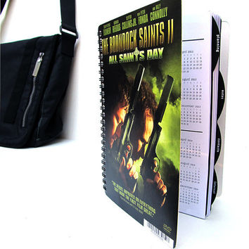 Boondock Saints 2012 - 2013 Daily Planner / Calendar UpCycled Norman Reedus