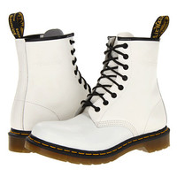Dr. Martens 1460 W White Smooth - Zappos.com Free Shipping BOTH Ways