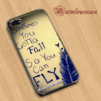 sleeping with sirens infinity quote  custom case for all phone case