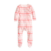crewcuts Baby Footsie Coverall In Double Stripe
