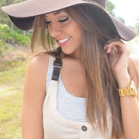 RESTOCK Going To The Country Hat: Brown