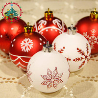 Christmas balls  Theme Pack Ornaments for Tree Decor Ball  Bauble Hanging Xmas Ornament Home Decor  DIY Balls Craft Ornament